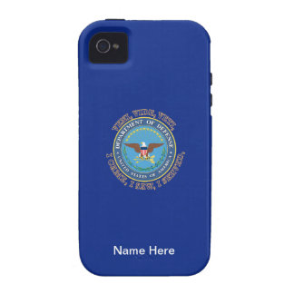 Department of Defense DOD VVV Shield Vibe iPhone 4 Cases