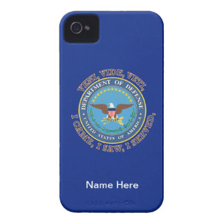 Department of Defense DOD VVV Shield iPhone 4 Case-Mate Cases
