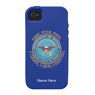 Department of Defense DOD VVV Shield Case-Mate iPhone 4 Cover