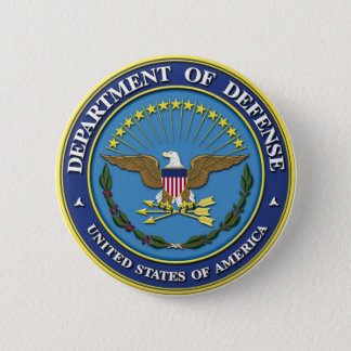 Department of Defense Pinback Button