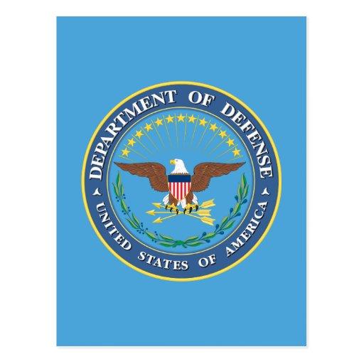Department of Defense Postcard