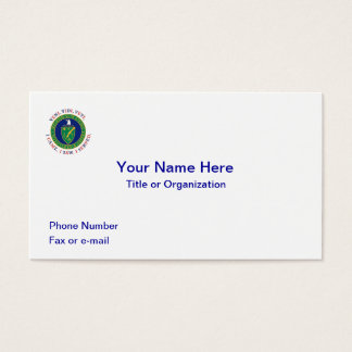 Department of Energy DOE VVV Shield Business Card