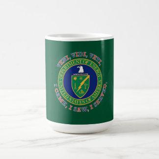 Department of Energy DOE VVV Shield Coffee Mug