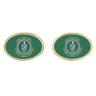 Department of Energy DOE VVV Shield Cufflinks