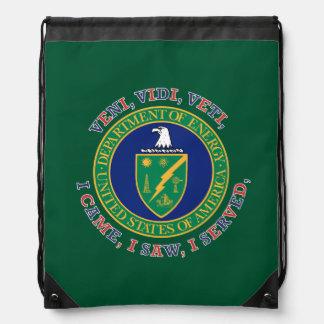 Department of Energy DOE VVV Shield Drawstring Backpack