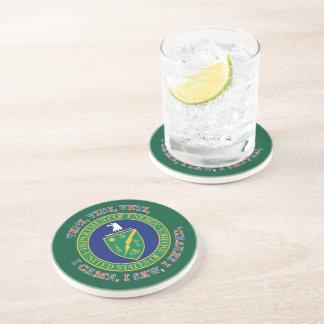 Department of Energy DOE VVV Shield Drink Coaster