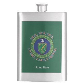 Department of Energy DOE VVV Shield Hip Flask