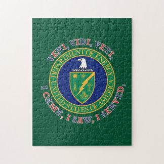 Department of Energy DOE VVV Shield Jigsaw Puzzle