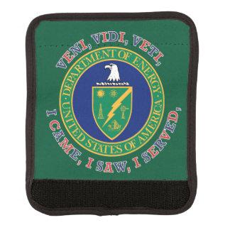 Department of Energy DOE VVV Shield Luggage Handle Wrap