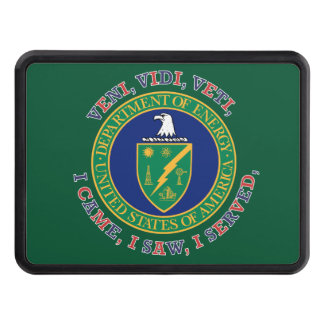 Department of Energy DOE VVV Shield Tow Hitch Covers