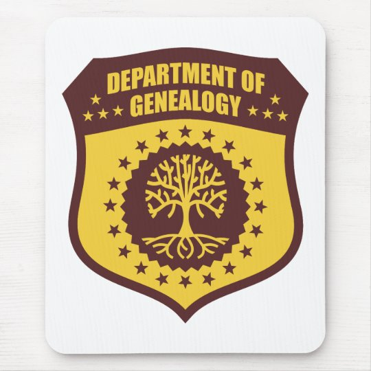 Department Of Genealogy Mouse Pad