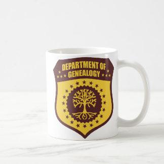 Department Of Genealogy Classic White Coffee Mug
