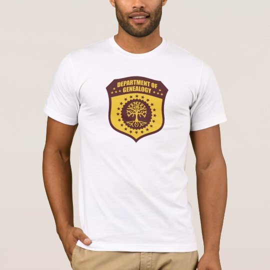 Department Of Genealogy T-Shirt