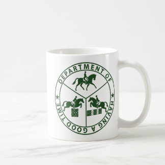 department of having a good time - eventing coffee mug