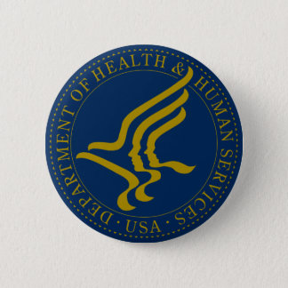 Department of Health and Human Services Button