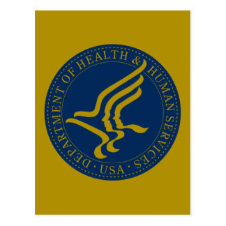 Department of Health and Human Services Postcard