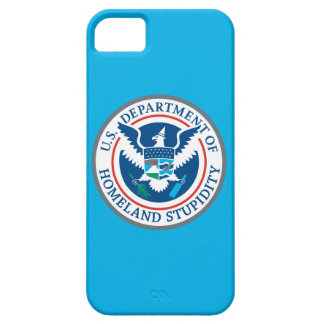 Department of Homeland Stupidity iPhone 5 Case