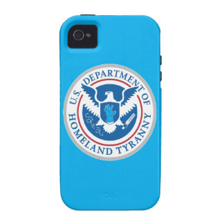 Department of Homeland Tyranny iPhone 4/4S Cover