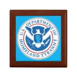 Department of Homeland Tyranny Keepsake Boxes