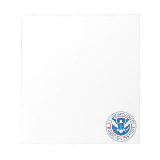 Department of Homeland Tyranny Notepad