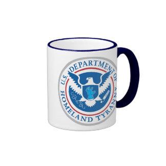 Department of Homeland Tyranny Ringer Mug