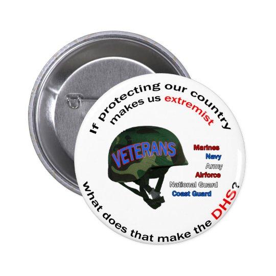 Department of Homland Senility Pinback Button