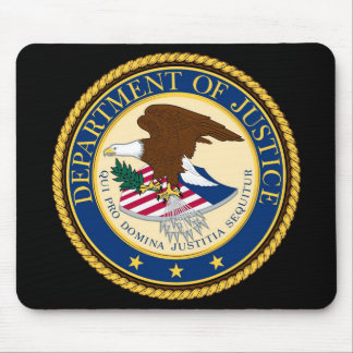 Department OF Justice Mouse Pad