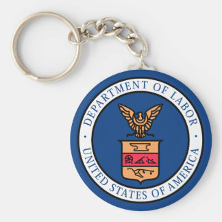 Department of Labor Keychain