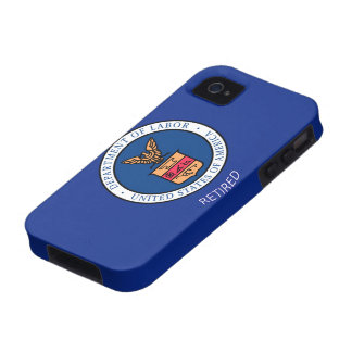 Department of Labor Retired Vibe iPhone 4 Cover