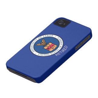 Department of Labor Retired iPhone 4 Cover