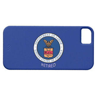 Department of Labor Retired iPhone 5 Case
