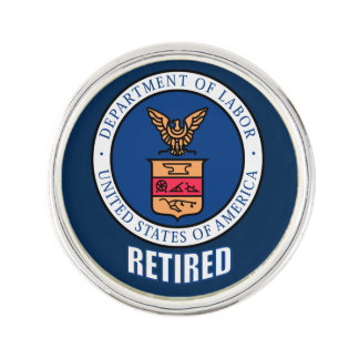 Department Of Labor Retired Lapel Pin