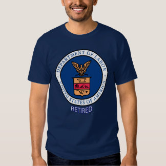 Department of Labor Retired Tshirts