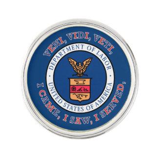 DEPARTMENT OF LABOR VVV Shield