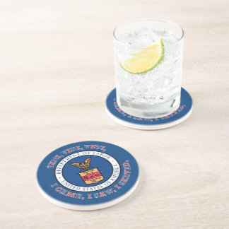 DEPARTMENT OF LABOR VVV Shield Beverage Coaster