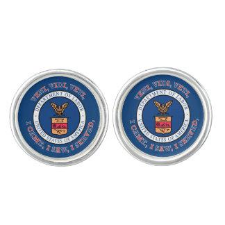 DEPARTMENT OF LABOR VVV Shield Cufflinks