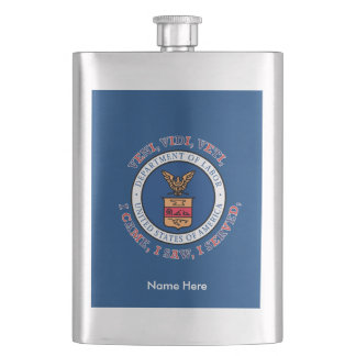 DEPARTMENT OF LABOR VVV Shield Flask