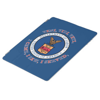 DEPARTMENT OF LABOR VVV Shield iPad Cover