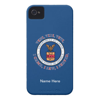 DEPARTMENT OF LABOR VVV Shield iPhone 4 Covers