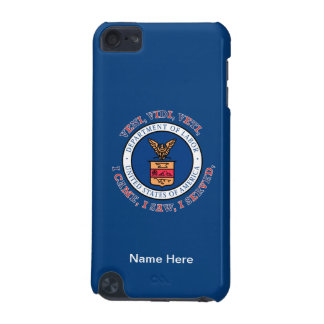 DEPARTMENT OF LABOR VVV Shield iPod Touch (5th Generation) Cover