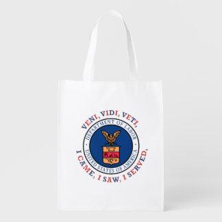 DEPARTMENT OF LABOR VVV Shield Reusable Grocery Bag