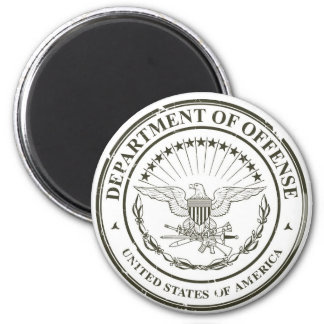 Department of Offense 2 Inch Round Magnet