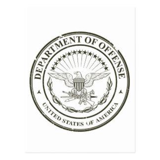 Department of Offense Postcard