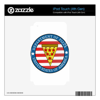 Department of Pizza iPod Touch 4G Skin