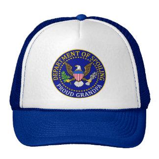 Department of Spoiling - Proud Grandpa Trucker Hat