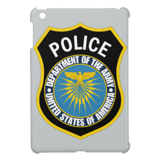 Department of the Army Police iPad Mini Cover