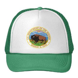 Department of the Interior Mesh Hat