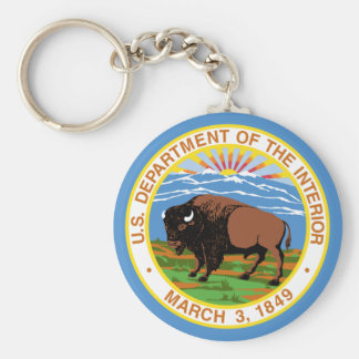 Department of the Interior Keychain