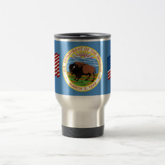 Department of the Interior 15 Oz Stainless Steel Travel Mug