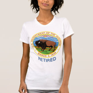 Department of the Interior Retired Shirt